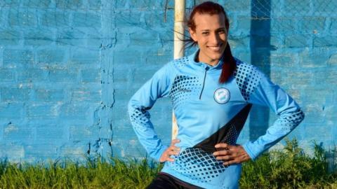 Meet Mara Gomez, the first transgender woman to play professional football