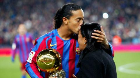 Ronaldinho couldn't attend mum's funeral after she passed from coronavirus