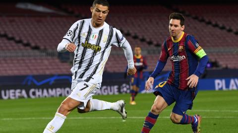 No Ronaldo or Messi in Champions League quarterfinals for the first time in 15 years