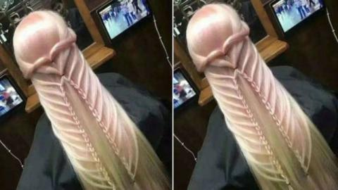 Proud Of Her Hairstyle, She Shared A Photo Of It On Twitter And Became The Laughing Stock Of The Internet