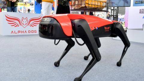 Meet Alphadog, the world's fastest Chinese robodog
