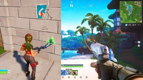First-Person View Was Discovered in Fortnite After The Game Glitched