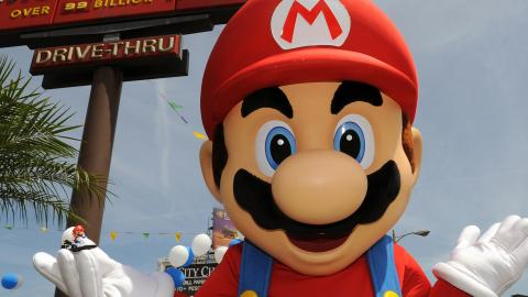 Here are the first photos of Super Nintendo World!