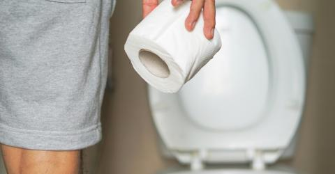 We've all been doing something very wrong when going to the toilet