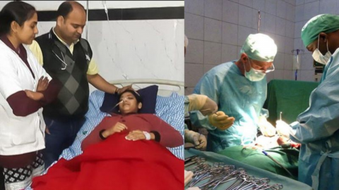 She was suffering from abdominal pain, the secret behind it was horrifying