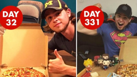 This guy ate Domino's every day for over a year to prove a point