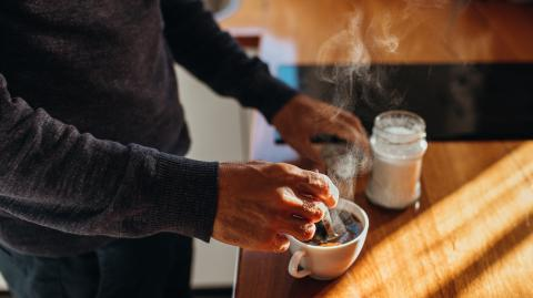 Drinking coffee on an empty stomach can actually be bad for you
