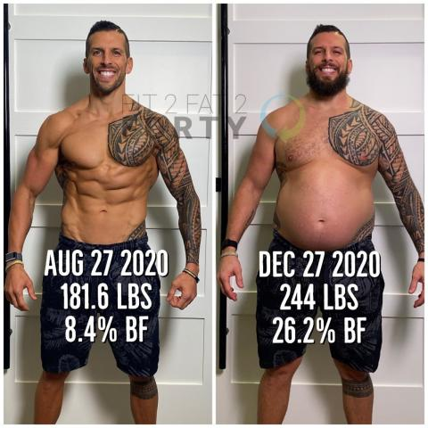 This Fitness Coach Became Obese to Inspire His Clients