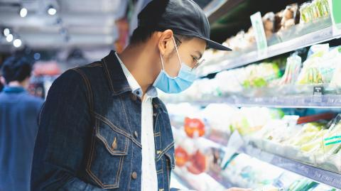 Traces of the coronavirus have been found on frozen food packaging