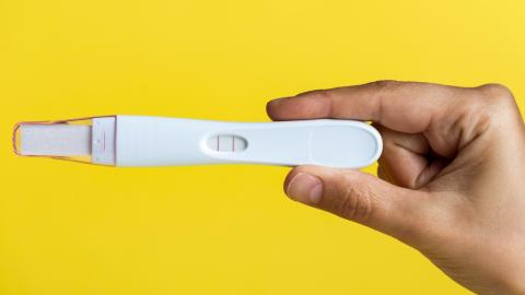 Pregnancy tests can tell men if they have testicular cancer