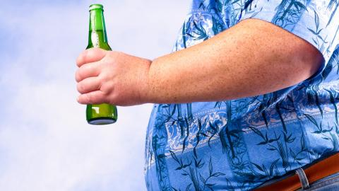 Prevent beer belly without actually giving up on beer