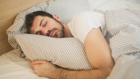 Sleep talking may indicate this serious illness