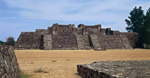 Earthquake Reveals the Remains of Ancient Mexican Temple Hidden Within a Pyramid