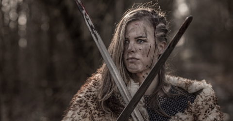 The first female Viking warrior has been discovered