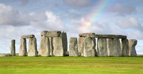 A rare image reveals the secret to building the Stonehenge