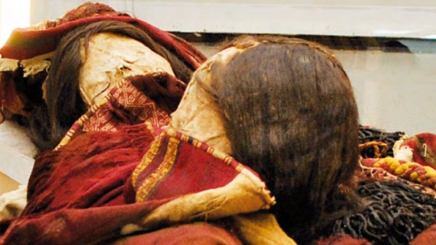 Archaeologists discover horrifying secret in tomb of Incan mummies