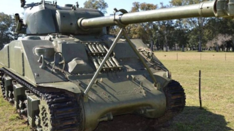 After purchasing an antique tank, he made an incredible discovery inside