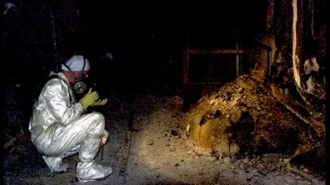 The elephant's foot in the bowels Of Chernobyl could kill you in minutes