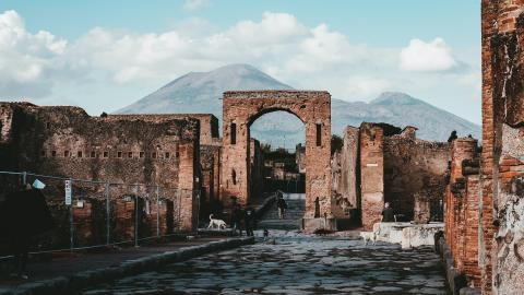 A Roman chariot dating from the 1st century AD has been found intact near Pompeii