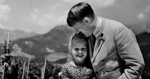 The incredible story behind this photo of Adolf Hitler and a Jewish girl