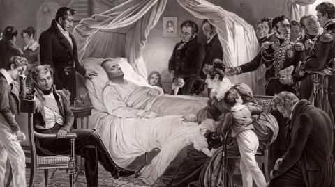 The mysterious circumstances surrounding Napoleon's death continue to be debated
