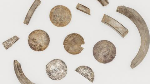 Viking era coins discovered in Isle of Man could help understand 'complex Viking Age economy'