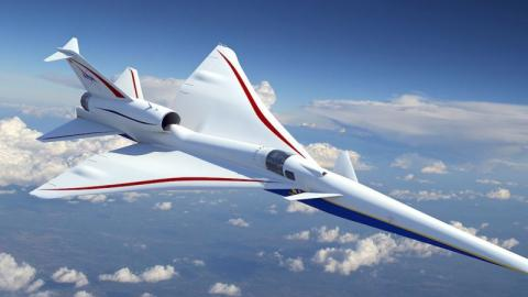 NASA Is Building A Supersonic Plane As Fast As The Concorde, But A Lot Quieter