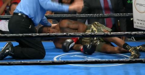 Overconfident Boxer Got Knocked Immediately After Taunting His Opponent