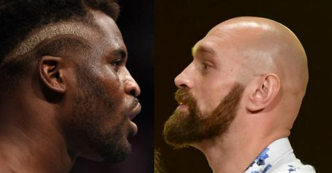 Francis Ngannou And Tyson Fury Trash-Talked Each Other On Twitter