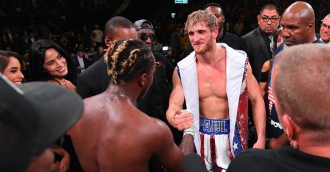 KSI And Logan Paul Go All Out In Their Boxing Rematch
