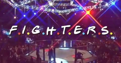 A Fan Remixed The 'Friends' Opening Using UFC Fighters