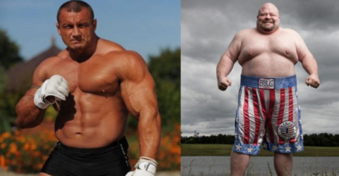 What Happens When the Strongest Man in the World Faces Off Against the Word's Largest Boxer!