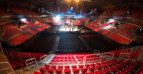 The surreal footage of UFC Brasilia without an audience due to the coronavirus could be a preview of UFC 249