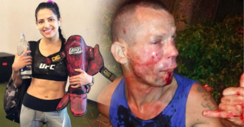 'Armed' Mugger Left In Tatters After Trying To Rob UFC Star Polyana Viana