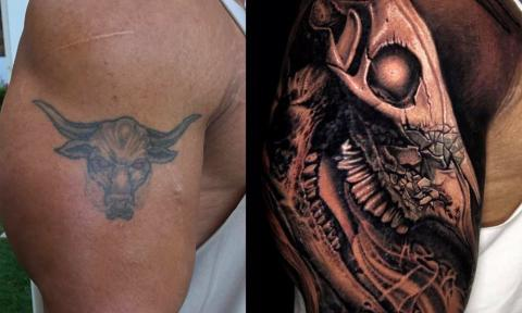 The Rock explained the meaning behind his most intimidating tattoo!