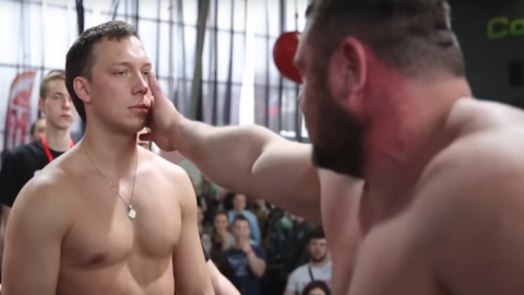 These Russian slapping competitions are one of the most brutal things we've ever seen