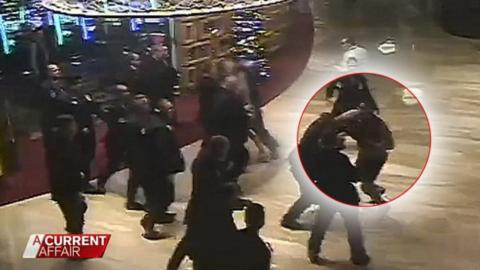 MMA fighter vs. 12 security guards in a casino: who wins?