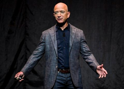 Jeff Bezos makes the average person's lifetime salary in mere seconds