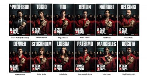 This Is The Real Reason The Money Heist Characters Are Named After Cities