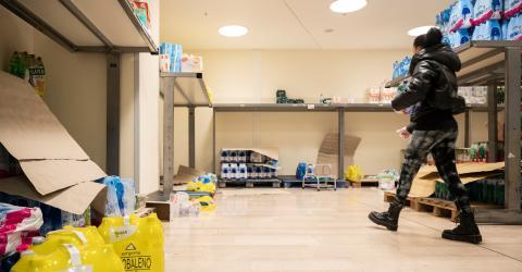 Coronavirus Causes Panic In Italian Supermarkets