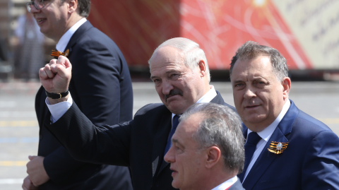 The President of Belarus Claims to Have Survived Coronavirus Thanks to Vodka and Sauna's