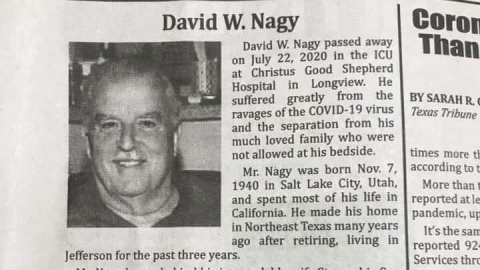 Man's Obituary Goes Viral After Tearing Into Trump and Ignorant People