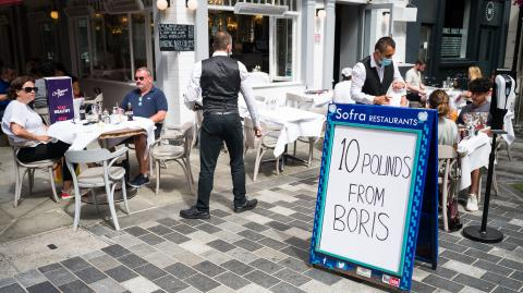 The new Eat Out To Help Out campaign has left many Brit's confused