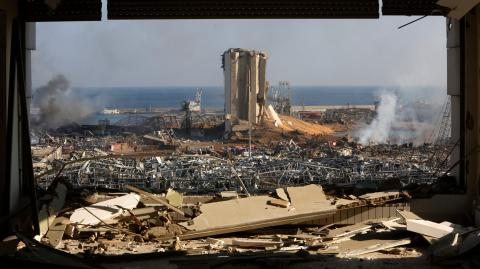 Images show the devastating effect of the Beirut explosion and what it would look like in other major cities