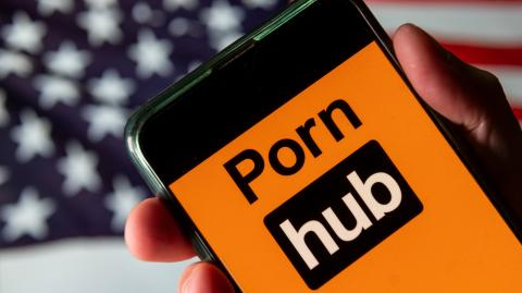 Pornhub announces it will only be available to Americans who voted in the election