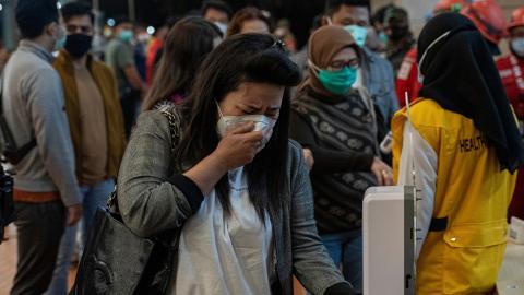 Sriwijaya air crash victim's heartbreaking final message revealed