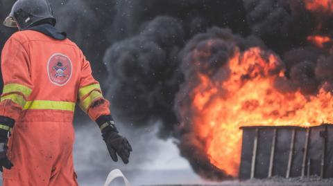 Fire at world's biggest COVID jab facility kills 5