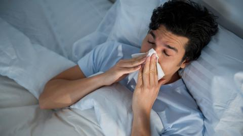 Lockdown leads to lowest flu cases in 130 years