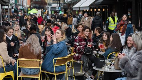 London celebrates reopening of pubs, but is it too early?