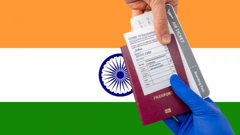 India added to 'red list' as new cases linked to international travel